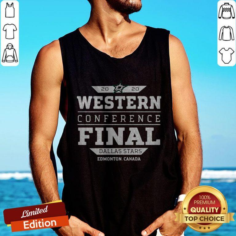 Dallas Stars 2020 western conference final Tank Top