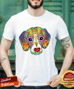 Day Of The Dead Dia De Los Muertos Beagle Sugar Skull Dog Shirt