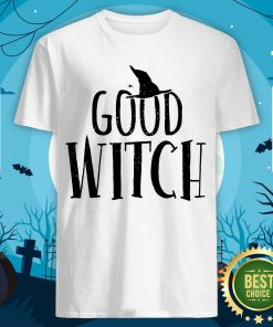 Halloween Witch Shirt Good Bad Funny Mom Sisters Scary Shirt