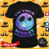 Jack Skelling I'm Your Worst Nightmare Colorful Shirt