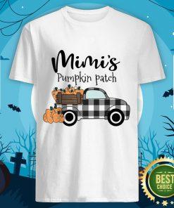 Mimi's Pumpkin Patch Truck Art Happy Halloween Shirt