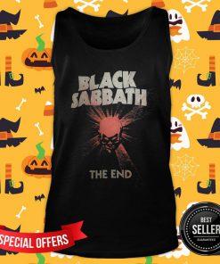 Nice Skull Black Sabbath The End Tank Top