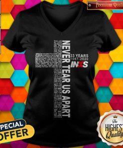 Premium 33 Years 1987 2020 Inxs Never Tear Us Apart V-neck