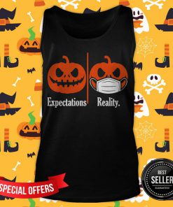 Pumpkin Expectations Pumpkin Face Mask Reality Tank Top