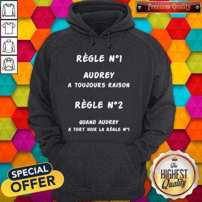 Regle No1 Caro A Toujours Raison Regle No2 Quand Caro A Tort Voir La Regle No1 Hoodie