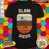 Slam Diego San Diego Souvenirs Baseball Vintage Retro Shirt