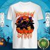 Top Black Cat Halloween Spirit Shirt