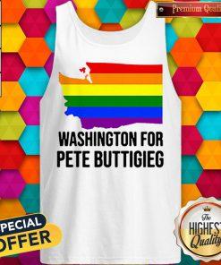 Washington For Pete Buttigieg Lgbt Vote 2020 Tank Top