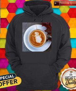 Atr Ghost Latte Coffee Halloween Hoodie