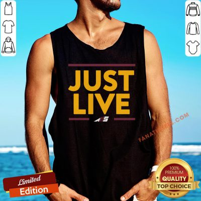 Awesome Alex Smith Just Live Tank Top - Design By Fanatictees.com