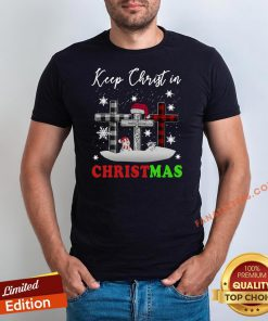 Funny Jesus Keep Christ In Christmas Shirt - Design By Fanatictees.com