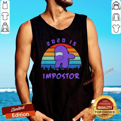 Hot Dabbing 2020 Impostor Imposter Among Game Us Sus Tank Top - Design By Fanatictees.com