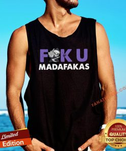 Hot Grim Reaper Middle Finger Fuku Madafakas Tank Top - Design By Fanatictees.com