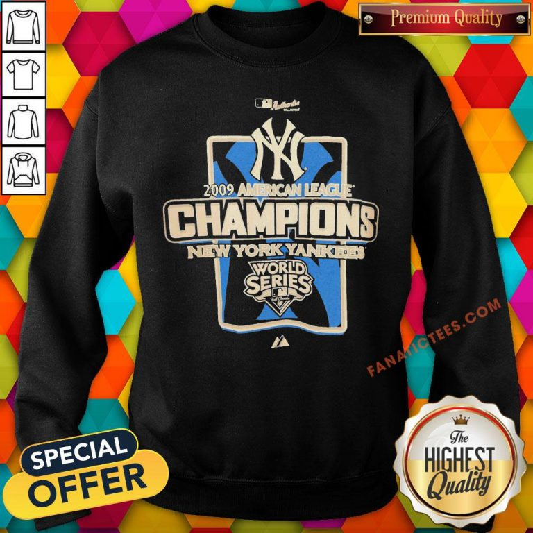New York Yankees MLB 2009 Champions NYC Sweatshirt - Design By Fanatictees.com