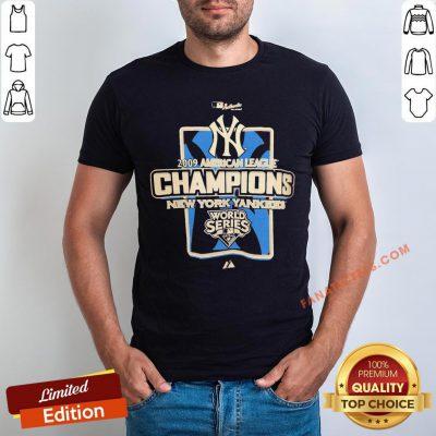 New York Yankees MLB 2009 Champions NYC Shirt - Design By Fanatictees.com