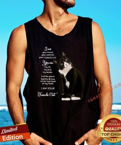 Nice I Am Your Friend Your Partner Your Tuxedo Cat Tank Top - Design By Fanatictees.com