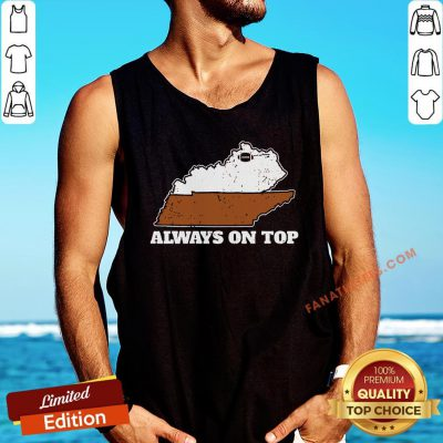 Official Always On Top In Football Tank Top - Design By Fanatictees.com