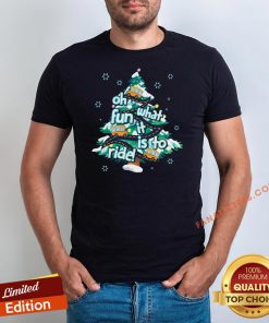 Official Oh What Fun It Is To Ride Tree Christmas Shirt - Design By Fanatictees.com
