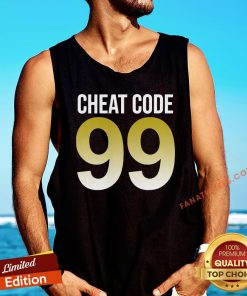 Original Cheat Code 99 Tank Top - Design By Fanatictees.com
