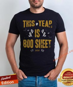 This Year Is Boo Sheet Halloween Shirt - Design By Fanatictees.com