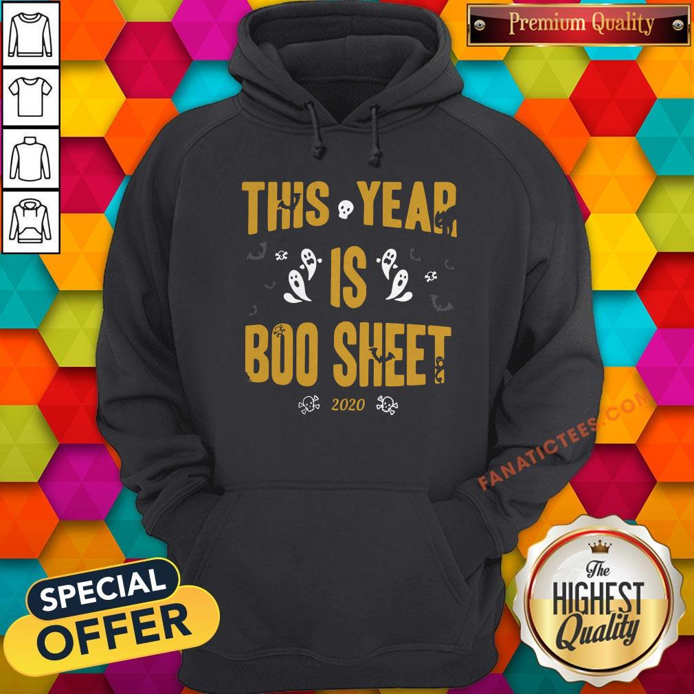 This Year Is Boo Sheet Halloween Hoodie - Design By Fanatictees.com