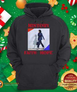 Awesome Kamala Harris Faith Hope History 2020 Hoodie - Design By Fanatictees.com