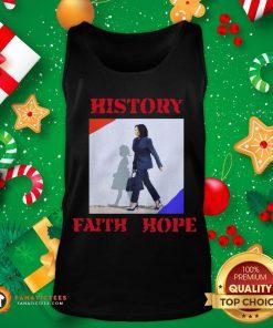 Awesome Kamala Harris Faith Hope History 2020 Tank Top - Design By Fanatictees.com