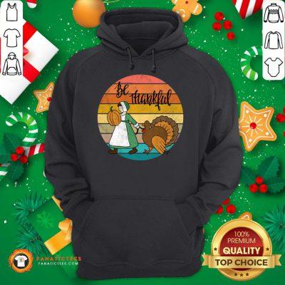 Funny Thanksgiving Pilgrim And Turkey Hoodie - Design By Fanatictees.com