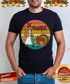 Funny Thanksgiving Pilgrim And Turkey T-Shirt - Design By Fanatictees.com