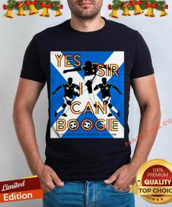 Yes Sir I Can Boogie Shirt- Design By Fanatictees.com