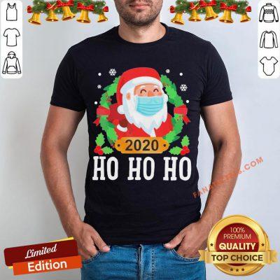 Original Santa Face Mask Funny Christmas Pajama For Family Shirt- Design By Fanatictees.com