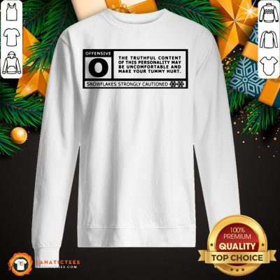 Pretty Sarcastic Rated Offensive Sweatshirt - Design By Fanatictees.com
