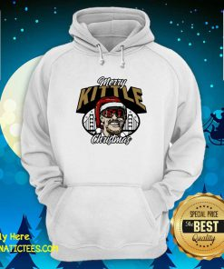 George Kittle Merry Kittle Christmas Hoodie- Design By Fanatictees.com