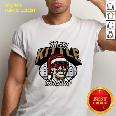 George Kittle Merry Kittle Christmas Shirt- Design By Fanatictees.com