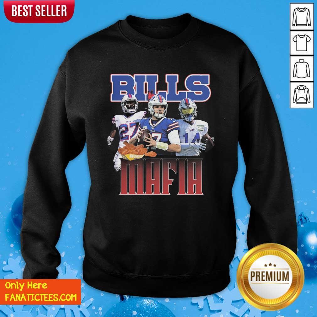 Buffalo Bills Mafia Nfl Sweatshirt- Design By Fanatictees.com
