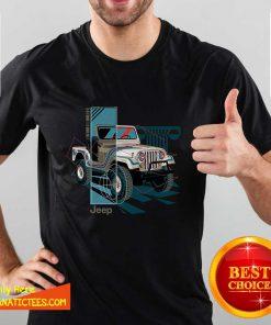 Jeep Wrangler Painted Angles Shirt- Design By Fanatictees.com
