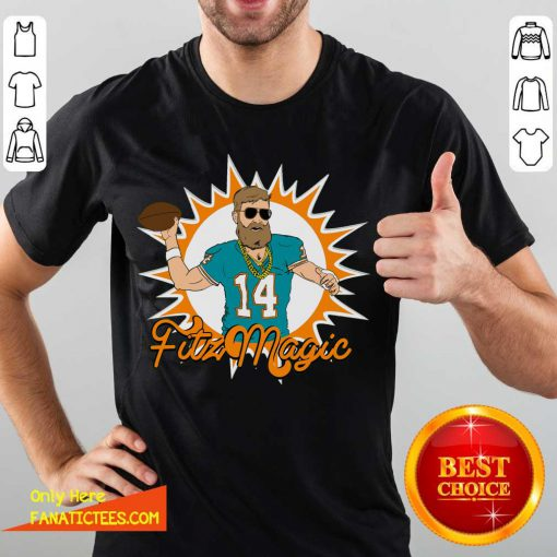 Miami Fitzmagic Ryan Fitzpatrick Shirt- Design By Fanatictees.com