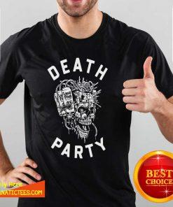 Liquid Death Merch Death Party Shirt- Design By Fanatictees.com
