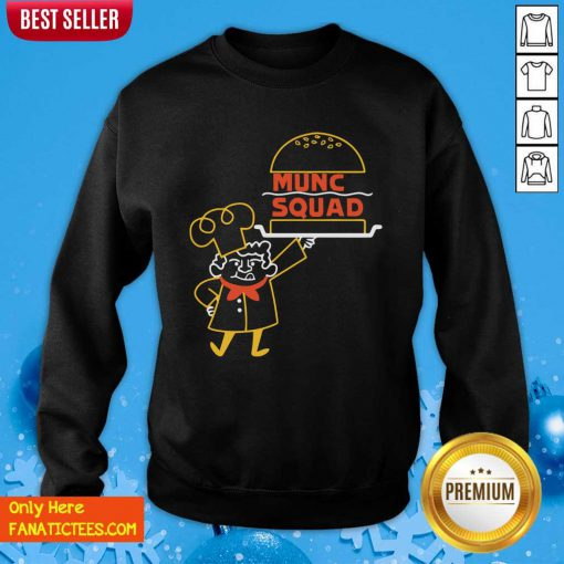Mbmbam Mcelroy Family Merch Munch Squad Sweatshirt- Design By Fanatictees.com