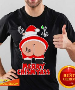Santa Claus Ho Ho Merry Christmas Shirt- Design By Fanatictees.com