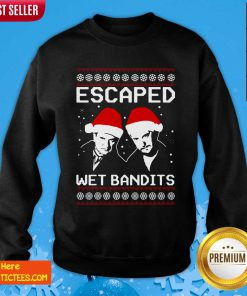 Home Alone Escaped Wet Bandits Ugly Christmas Sweatshirt- Design By Fanatictees.com