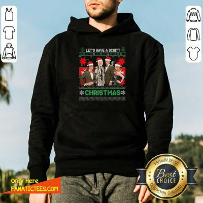 Schitts Creek Characters Lets Have A Schitt Christmas Hoodie - Design By Fanatictees.com