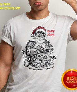 Tattoo Heavy Xmas Santa Claus Christmas All Days Shirt- Design By Fanatictees.com