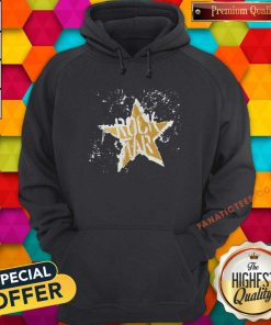 Born To Be Rock Star Rock N Roll Hoodie-Design By Fanatictees.com