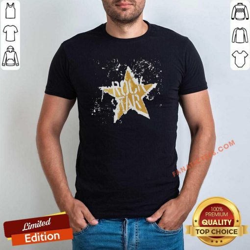 Born To Be Rock Star Rock N Roll T-Shirt-Design By Fanatictees.com