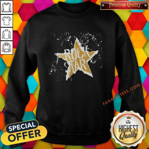 Born To Be Rock Star Rock N Roll Sweatshirt-Design By Fanatictees.com