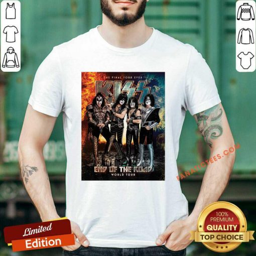 Kiss Band End Of The Road World Tour 2021 Shirt