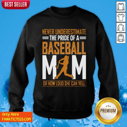 Mim De Baseball Quel Point Elle Peut Crier Fort Tata Sweatshirt-Design By Fanatictees.com