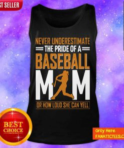 Mim De Baseball Quel Point Elle Peut Crier Fort Tata Tank Top-Design By Fanatictees.com