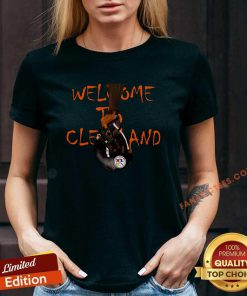 Welcome To Cleveland Browns Vs Pittsburgh Steelers V-n